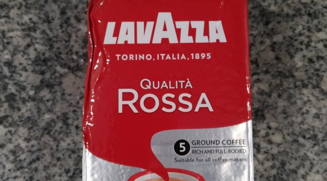 Lavazza: Monday, August 19, 2019